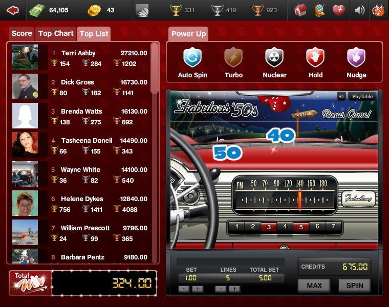 Slot machine tournament strategy