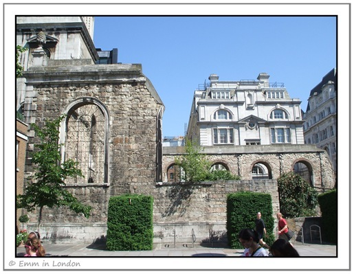 Christ Church Greyfriars public garden