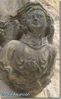 Iglesia del Santo Sepulcro - ángel sonriente