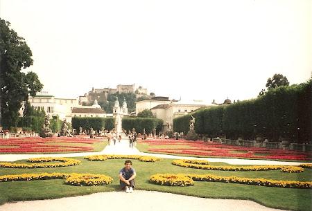 Obiective turistice Salzburg: gradina Mirabel