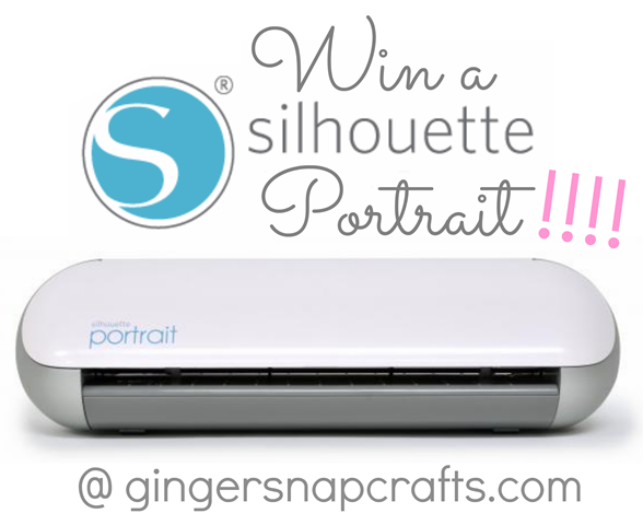 Silhouette Portrait Giveaway at GingerSnapCrafts.com #spon #silhouette #giveaway_thumb[2]
