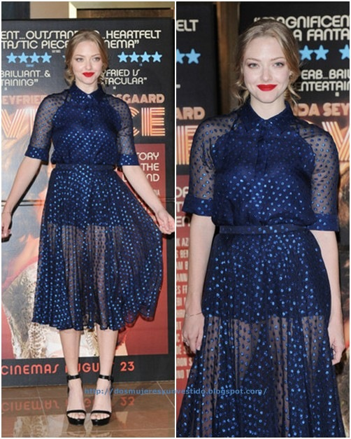 Amanda Seyfried Lovelace Screening London