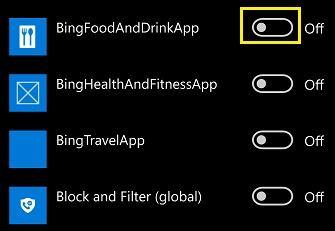 Hướng dẫn tắt ứng dụng chạy nền Windows 10 Mobile