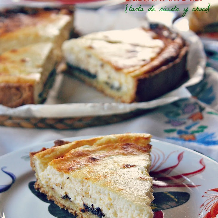 Chocolate Ricotta Tart Recipe