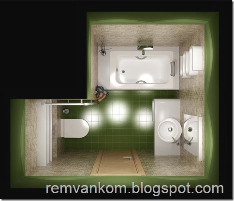 ремонт ванной комнаты 20