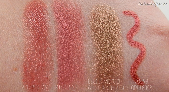 Swatches Laura Mercier
