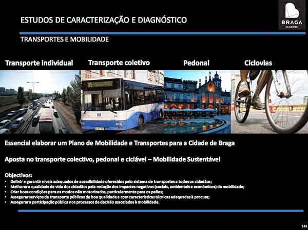 Revisão do PDM Braga 2014 - Transportes e Mobilidade