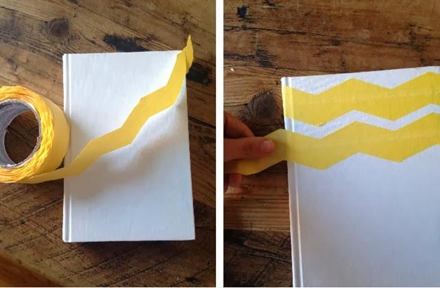 chevron painters tape