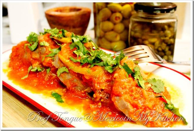 Beef Tongue in Tomato Sauce Recipe | Receta de Lengua de Res Entomatada
