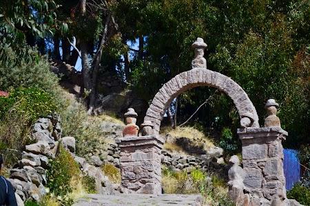Lacul Tititcaca: Poarta de piatra - insula Taquile