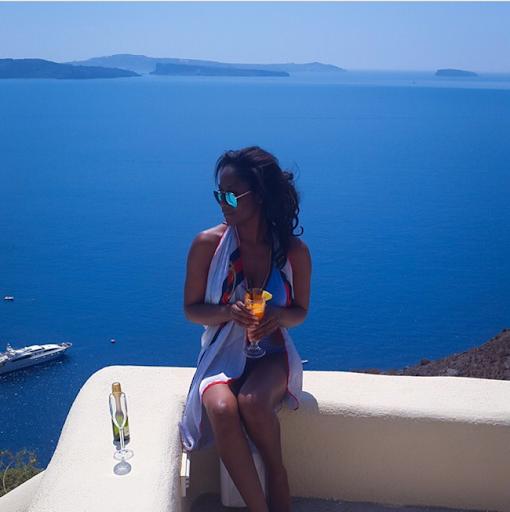 PHOTOS: Sylvia Nduka And Ene Maya's Vacation in Santorini Greece 21