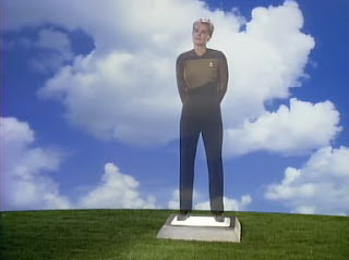 "Tasha Yar's Funeral in ""Skin of Evil"" - Season 1, Episode 23"