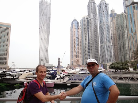 cu Ovidiu Chis in Dubai Marina