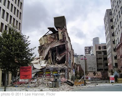 'Christchurch Earthquake February 22nd 2011 Buildings of Note' photo (c) 2011, Lee Hanner - license: http://creativecommons.org/licenses/by-sa/2.0/