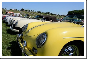 Porsche Speedster kit cars at Carlisle