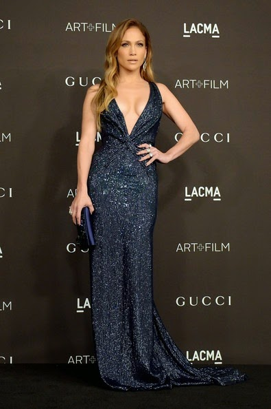 Jennifer Lopez attends the 2014 LACMA Art   Film Gala