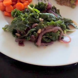 Sauteed Kale.