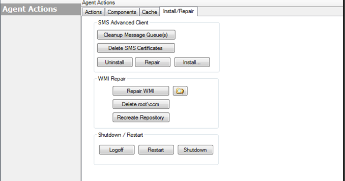 WMI and the ConfigMgr Client