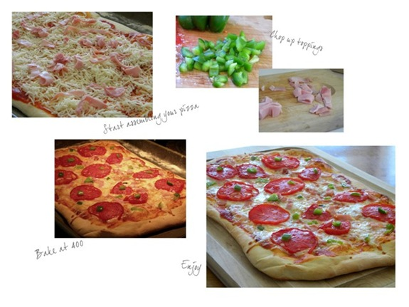 Blog Olive Oil Pizza Collage