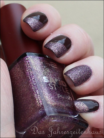 Essence sun kissed - 01 - Soak up the sun und P2 Sand Style Polish - 030 - Seductive4