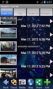 Vacation & Travel Journal- screenshot thumbnail
