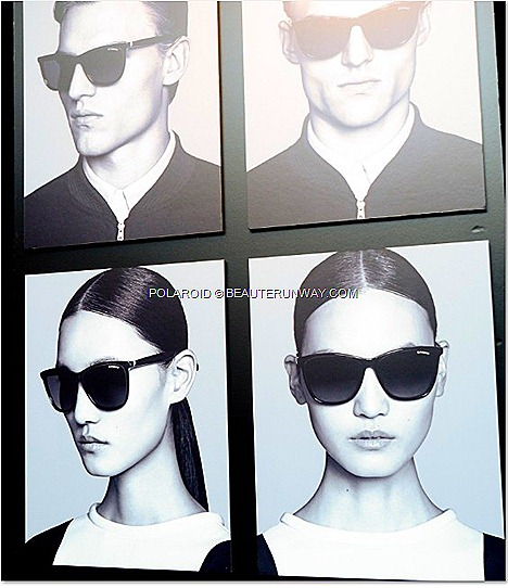 Polaroid Eyewear Spring Summer 2013 Plus Designer Sunglasses Collection mens, womens, kids, sports, suncovers, optical frames, 75 years polarizaton expertise New York City The Museum Modern Art (MoMA). DJ trio The Misshapes
