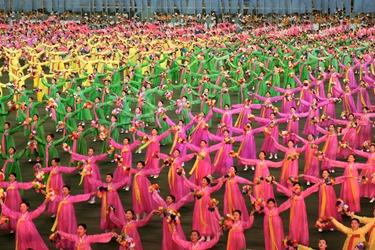 Giochi di Massa Corea del Nord
