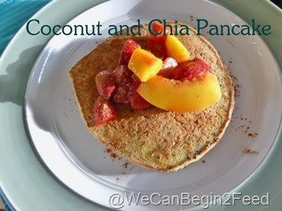 Coconut and Chia Pancakes