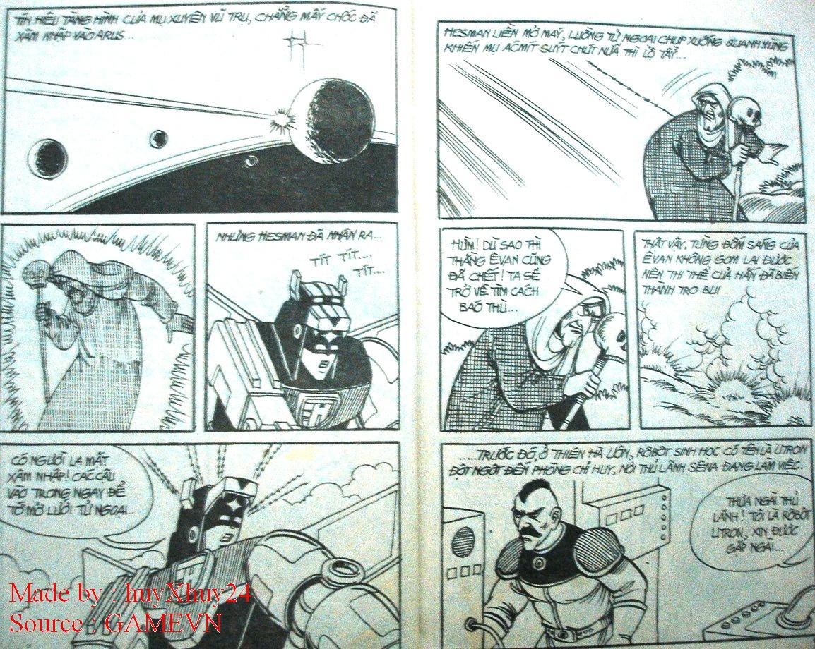 Dũng Sĩ Hesman chap 26 trang 2