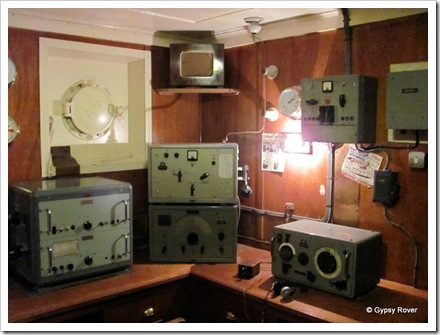 Trawlers radio room.