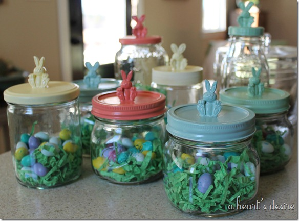 A Heart S Desire Easter Craft Bunny Jars