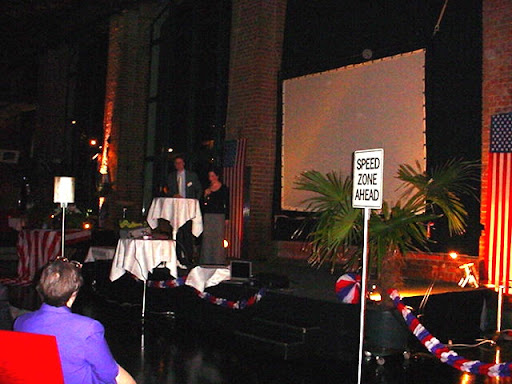 Steve Riedel während seiner Vorstellung der GACC West