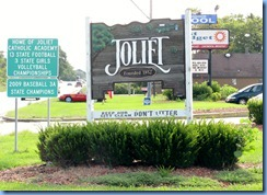 4621 Illinois - Joliet, IL - US-52 (Jefferson St) - Joliet sign