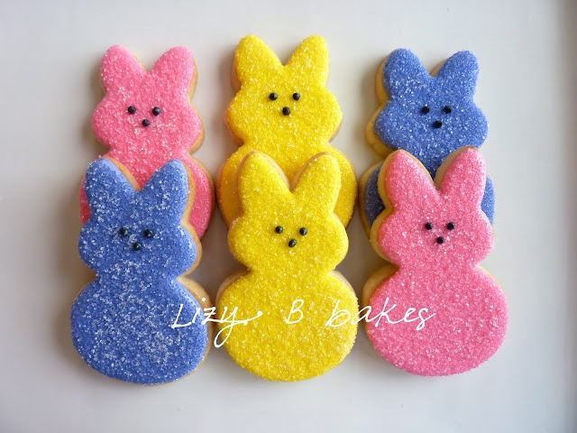 1 easter peep cookies