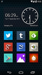 Long Shadow Icon Pack Screenshot 2