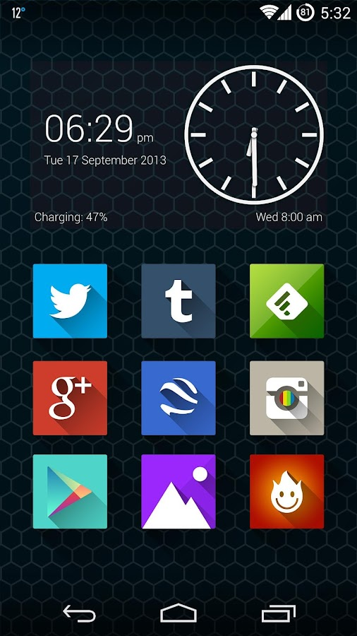 Long Shadow Icon Pack - screenshot