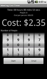 Meeting Cost Timer - screenshot thumbnail