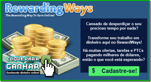 Registre-se RewardingWays Já!