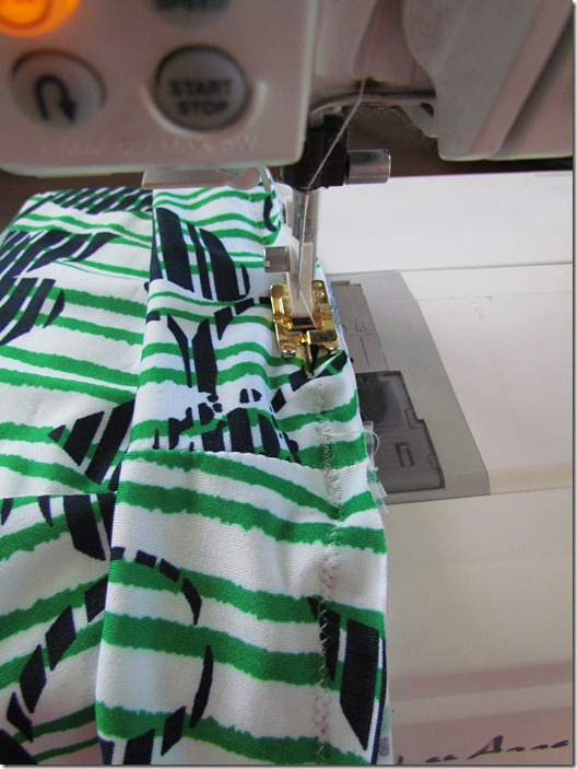 making a skirt 018