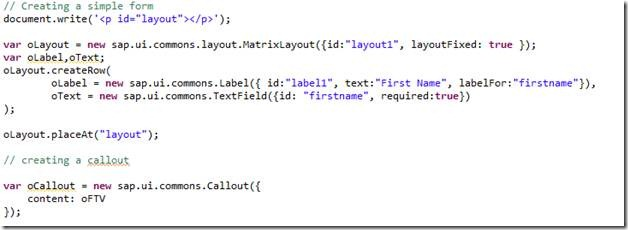 Formatted text view, Link and Call out - Team ABAP