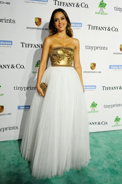 Jessica Alba attends the 2014 Baby2Baby Gala