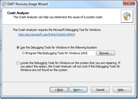 MPECS Inc  Blog: Installing DaRT 7 0: Finding Debugging Tools for
