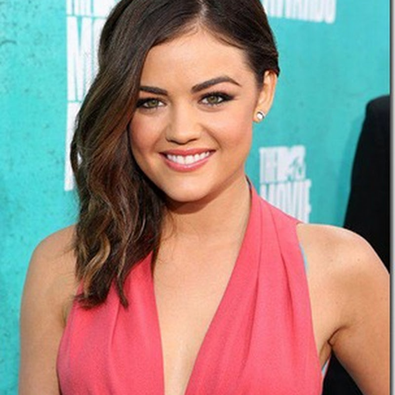 Lucy Hale at the 2012 MTV Movie Awards