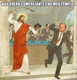 Jesus repreendendo Falsos profetas