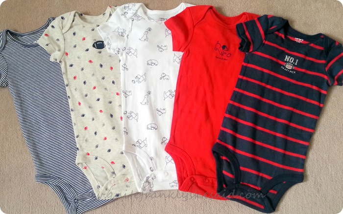 carter's baby grow us clothes haul