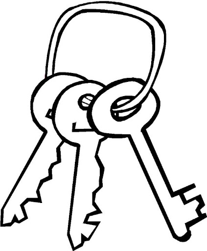 Dibujos para colorear llaves jpg 529x640 Juego dibujo llave 54bb5938b72