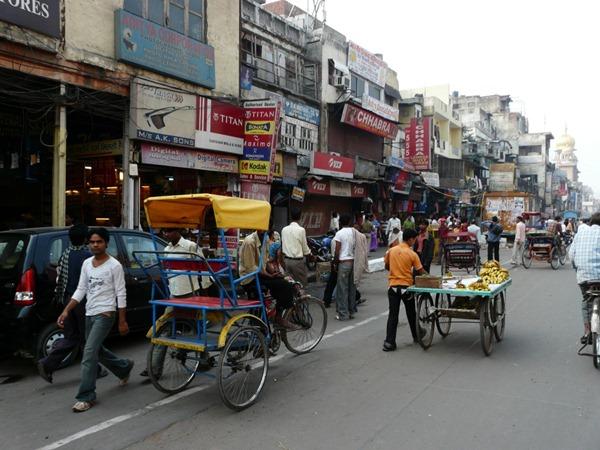 شوارع الهند