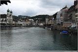 Blick von der Kapellbrücke, Luzern