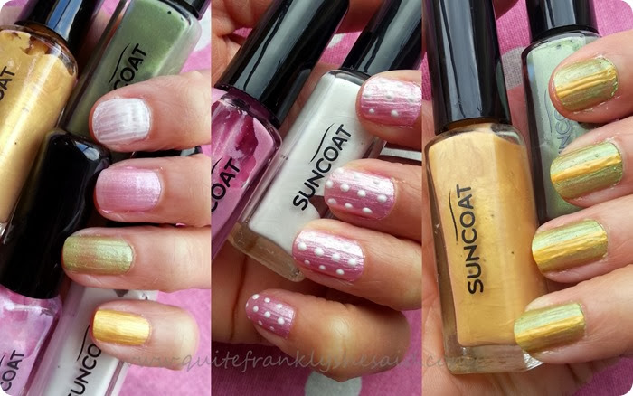 Suncoat natural nail art set earth mineral water based nail polish