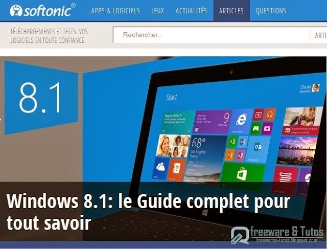 Le site du jour : le guide complet de Windows 8.1